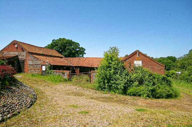Barns For sale In Edingthorpe North Norfolk with full residential planning permission